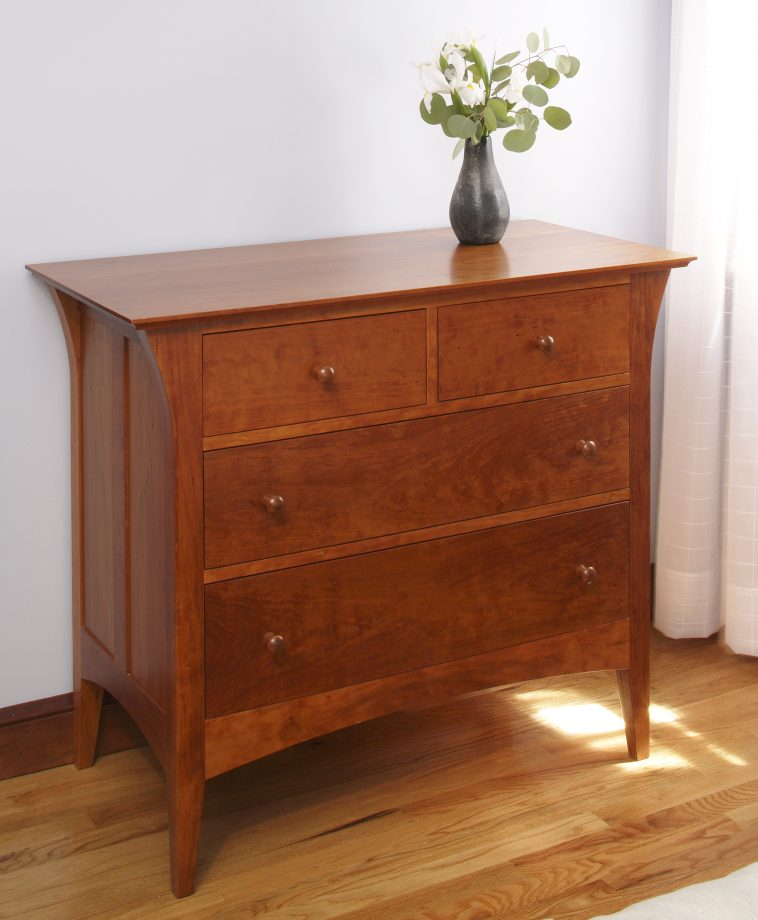 Davenport Bureau. Shown in cherry.