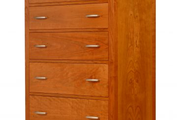 Dimarzio 6 Drawer Chest. Shown in cherry.