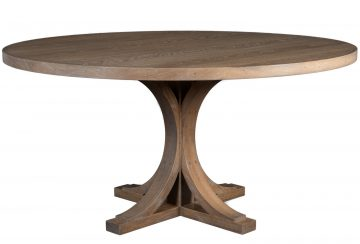 The Gates Table. Shown in white oak with Gates Finish.