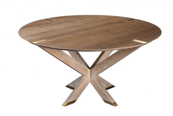 Newton Table. Shown in white oak with Newton finish.