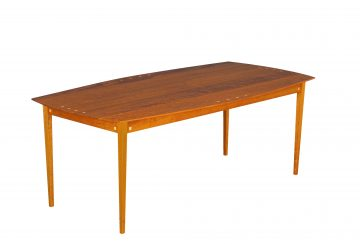 York Dining Table, shown in cherry.