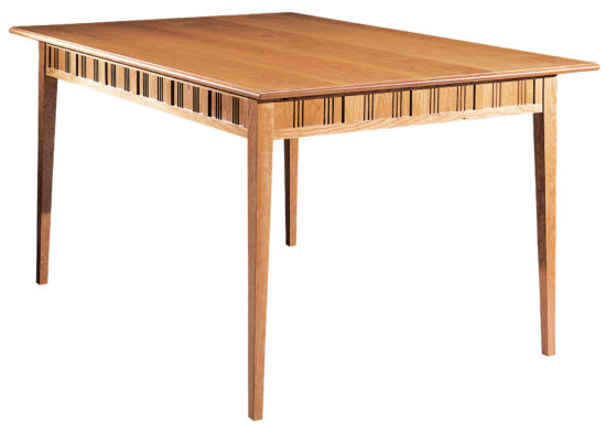 Kennebunk Table. Shown in cherry.