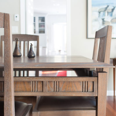 Custom Table Inspired by Kennebunk & Studio Designs