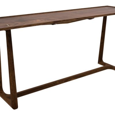 North Fork Console Table in walnut